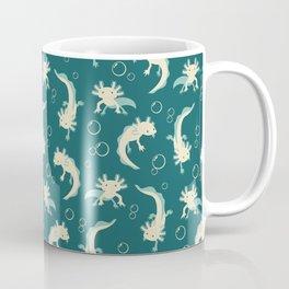 Relaxolotl - Teal Coffee Mug