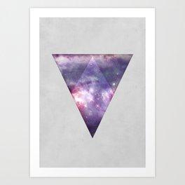 Space Tri Art Print