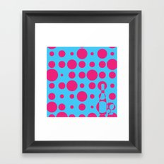 BUBBLY WINE Framed Art Print