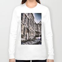 the neighbourhood Long Sleeve T-shirts featuring Character Building I by JeraNour