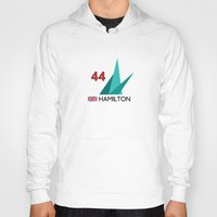 f1 Hoodies featuring F1 2015 - #44 Hamilton [v2] by MS80 Design