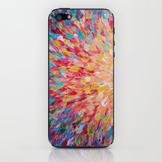 SPLASH - WOW Dash of Cheerful Color, Bold Water Waves Theme, Nature Lovers Modern Abstract Decor iPhone & iPod Skin
