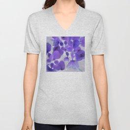 Flower | Flowers | Purple Water Plant Unisex V-Neck