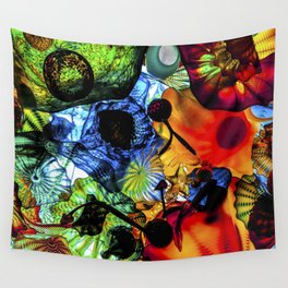 Happy Glass Wall Tapestry