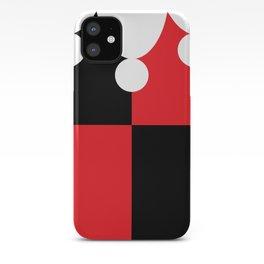 Harley Quinn Minimalist Print iPhone Case