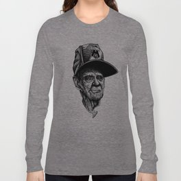 elder man head Long Sleeve T-shirt