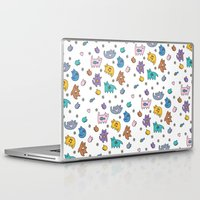 kittens Laptop & iPad Skins featuring Kittens by Plushedelica