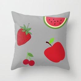 Fruits Design. Throw Pillow