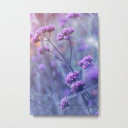 in purple mood Metal Print
