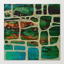 Block Wall Canvas Print