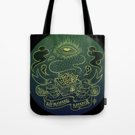 Reading minds / Mielofon Tote Bag