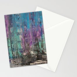 Treads Of Color Stationery Cards