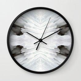 Frozen Waterfall Wall Clock