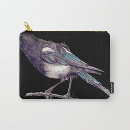 Juvenile Magpie Carry-All Pouch