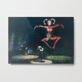 Clock Maker's Puppet Metal Print