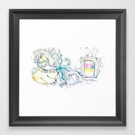 Carriage Friend Framed Art Print