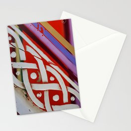Celtic Knot with Autumn Colors Stationery Cards