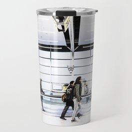 airport hurry Travel Mug
