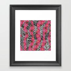 Geometric Spring Framed Art Print