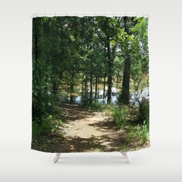 To the Lake Shower Curtain