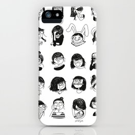 Daily mood iPhone Case