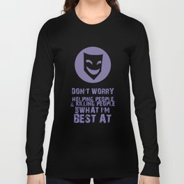 What I'm Best At V2 Long Sleeve T-shirt