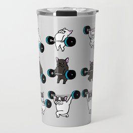 OLYMPIC LIFTING FRENCHIE Travel Mug
