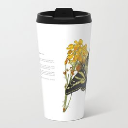 Western Tiger Swallowtail Infographic Travel Mug