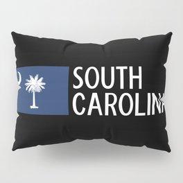 South Carolina: South Carolinian Flag Pillow Sham