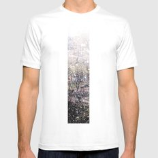 Snow in early fall(1)  Mens Fitted Tee White MEDIUM
