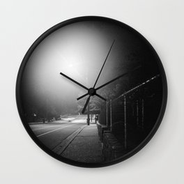 Night Moves 1 Wall Clock