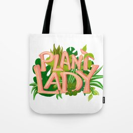 Plant Lady Tote Bag