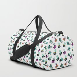 Photography Cameras Pattern Duffle Bag