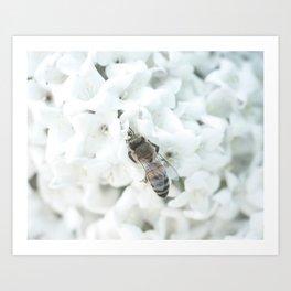 Bee-having Art Print
