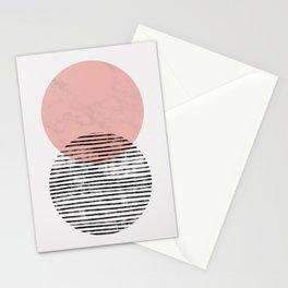 Mid Century art duo Stationery Cards
