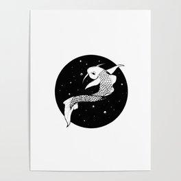 Carpe koi Poster