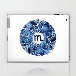 Scorpio in Petrykivka Style (with artist's signature/date) Laptop & iPad Skin