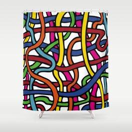 Pattern_1 Shower Curtain