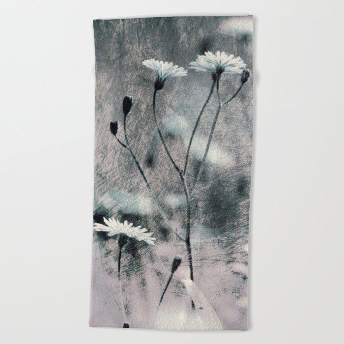 FLOWERS#97 Beach Towel