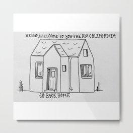 Southern California House 2 Metal Print