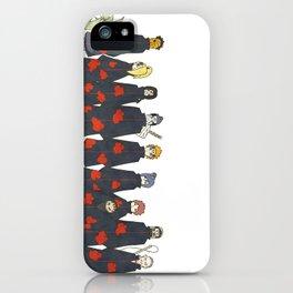 Naruto Akatsuki Dorks iPhone Case