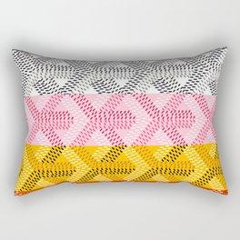 goyard  rainbow Rectangular Pillow