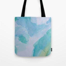 Blurred depths Tote Bag