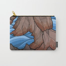 The rocky sea cliffs Carry-All Pouch