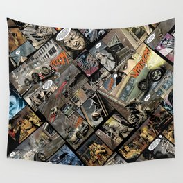 Vintage comics Wall Tapestry