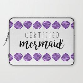 Certified Mermaid Laptop Sleeve