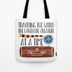 Traveling the World One Fantastic Creature at a Time Tote Bag