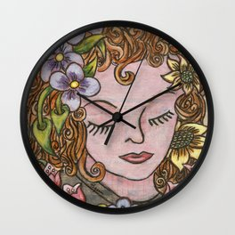 Dreaming Wall Clock