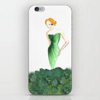 fashion illustration iPhone & iPod Skins featuring fashion illustration  by Rashmi Dagwar