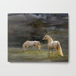 Stallions of the Gods Metal Print
